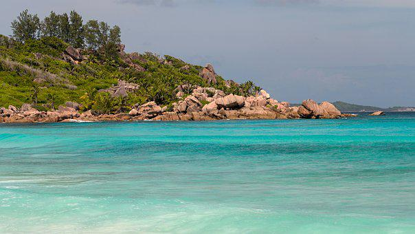 Seychelles, La Digue, An Island, Sea, Beach, Holiday