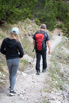 Hiking, Hike, Away, Human, Nature, Landscape, Backpack