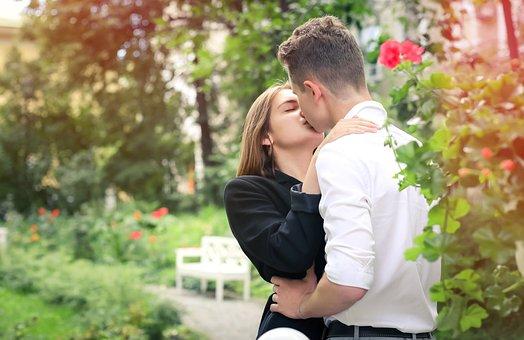 Kiss, Love, Tenderness, Romantic, Couple, Relationship