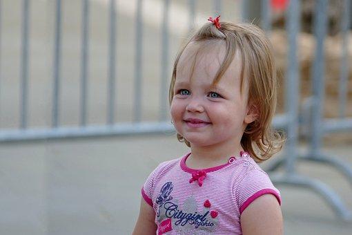 Girl, Smile, Blue Eyes, Koper, Slovenia