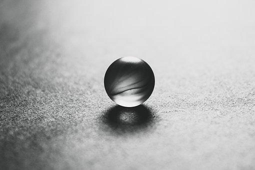 Marble, Photo, Ball, Reflection, Cool, Closeup, Detail