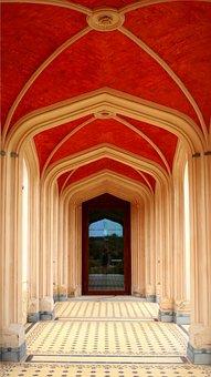Castle, Archway, Vault, Oriental, Taj Mahal, Mosque