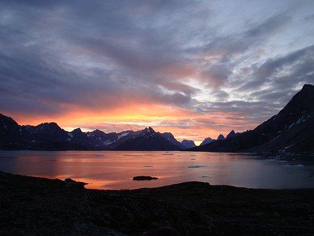 Greenland, Mountains, Land, Landscape