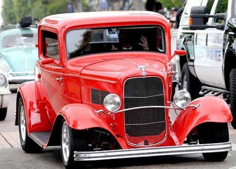 Car, Classic, Show, Automotive, Auto, Ford, Nostalgia