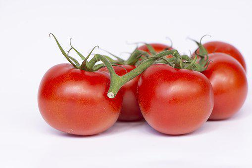 Tomatoes, Organic, Fresh, Red, Food