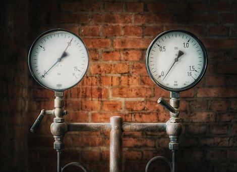 Pressure Gauge, Pressure, Ad, Instrument, Measure