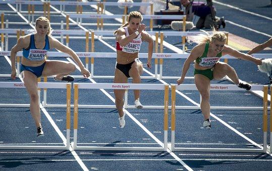 Ass, Hurdles, Track, Sports, Runner, Sprint