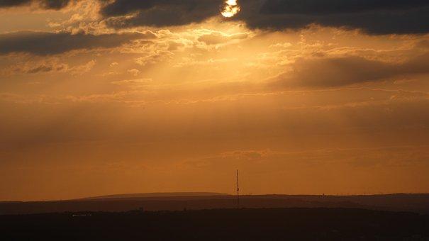 Sun, Bonn, The Hill Of Venus, Germany, Nature, Mood