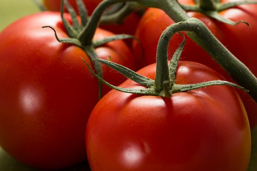 Tomatoes, Red, Food, Fresh, Vegetables, Healthy
