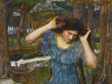 John, William, Waterhouse, Art, Fine, Historical