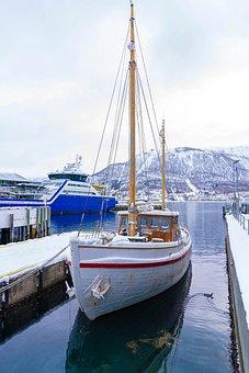 Norway, Tromso, Boat, Scandinavia, Winter, Travel