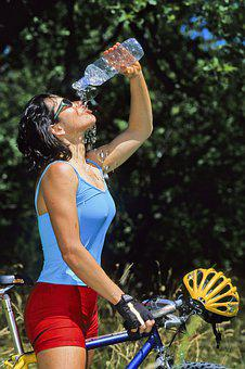 Water, Bike, Bicycle, Cycling, Nature, Active, Sport