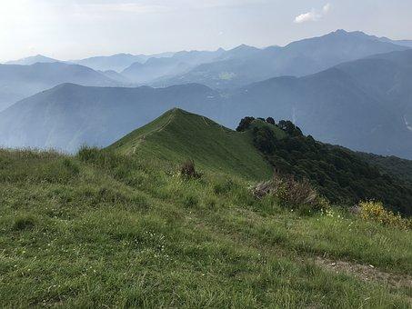 Panorama From Monte Boglia, Alpine Route, Alps, Alpine