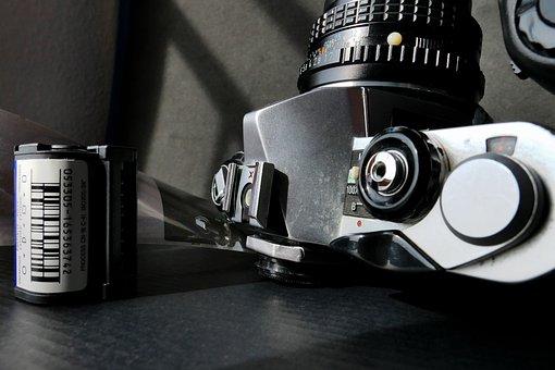 Camera, Analog Camera, Filmstrip, Film, Photography
