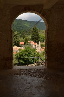 Arch, View, Scenery, Outdoors