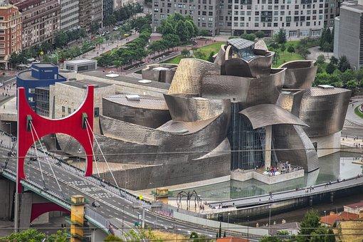 Museum, Architecture, Art, Facade, Guggenheim, Bilbao