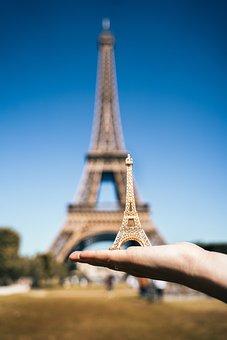 Paris, Eiffel Tower, Miniature, France, Architecture
