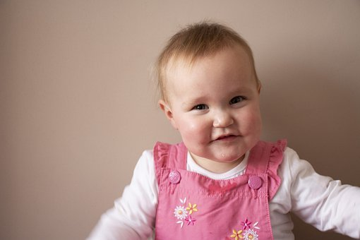Baby, One, Pink, Smile, Child, Family, Girl, Kid, Happy