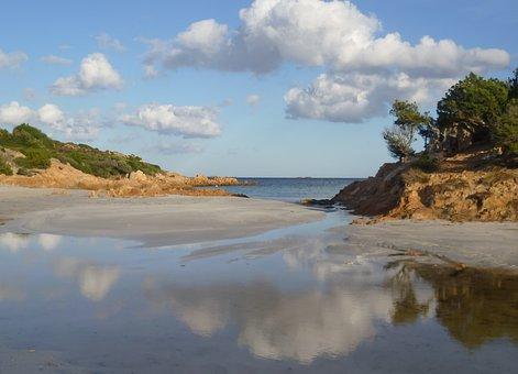 Italy, Sardinia, Beach, Vacations, Mediterranean, Water