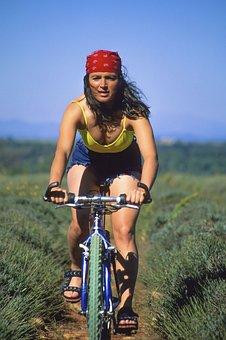 Bike, Woman, People, Bicycle, Cycling, Girl, Fashion