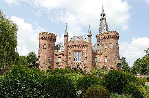 Castle, Lock, Museum, Addition To, Bedburg-hau, Germany