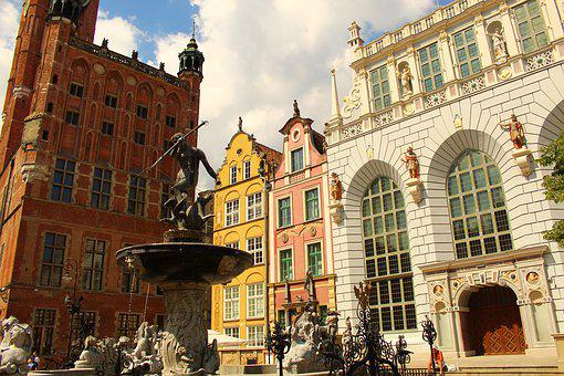 The Market, Gdańsk, City, Old Town, Architecture