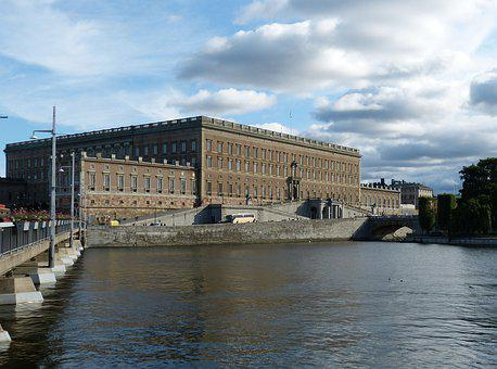 Stockholm, Sweden, Building, Architecture, City, Water