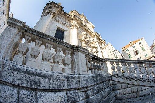 Dubrovnik, Stone, Croatia, Tourism, Summer, City