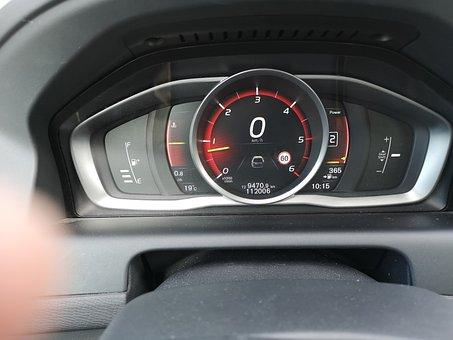 Dashboard, Meter, Zero