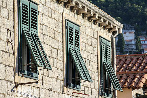 Dubrovnik, Old Town, Window, Europe, Buildings, House