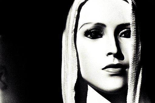 Mannequin, Woman, Black And White, Fashion, Portrait