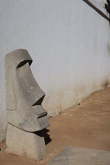 Head, Sculpture, Stone, Museum, Statue, Figure, Human