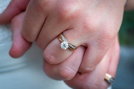 Wedding, Rings, Ring, Jewelry, Love, Engagement, Bride