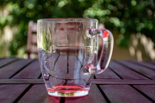 Glass, Empty Glass, Transparent, Kitchen, Clean, Empty