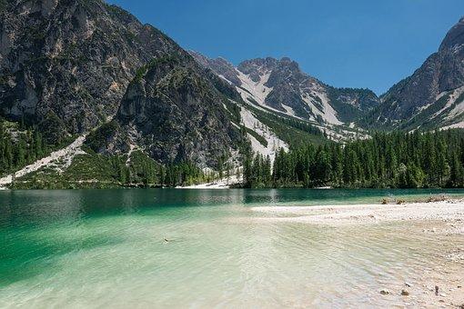 Nature, Landscape, Lake, Mountains, Mountain World