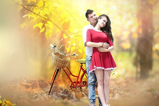 Couple, Holding Hands, Love, Woman, Man, Female, Male