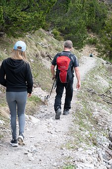 Hike, Descent, Hiking, Trail, Nature, Movement