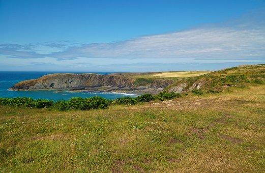 Landscape, Coast, Coastal, Sea, Ocean, Nature, Sky