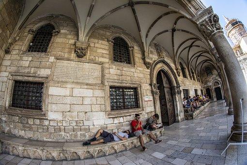 Dubrovnik, Croatia, Center, City, Old Town, Dalmatia