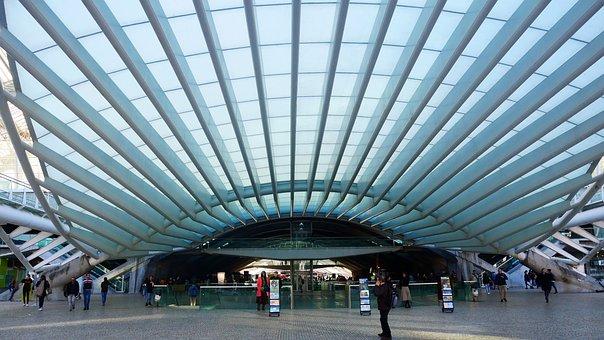 Portugal, Oriente, Railway Station, Lisbon