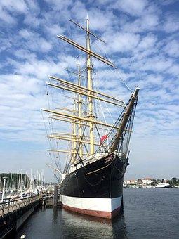 Ship, Sailing Vessel, Sailing Boat, Sail, Nautical