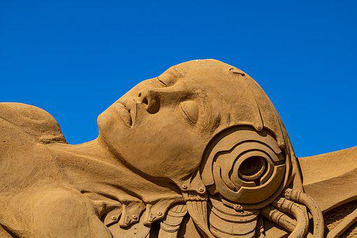 Sand Sculpture, San Francisco, Art, Festival