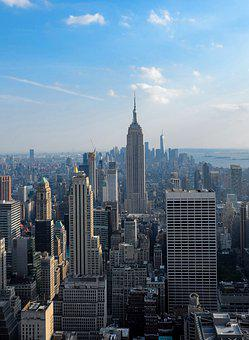 Manhattan, New York, Empire State Building, Skyscraper