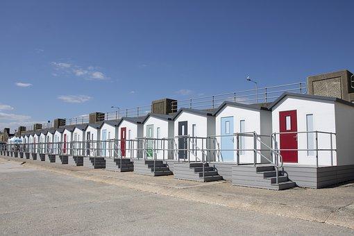 Seaford, Sussex, Beach, Huts, Luxury Huts, Beach Huts