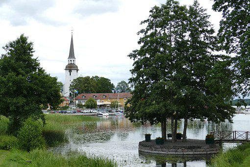 Gripsholm, Sweden, Historically, Mariefred, Church