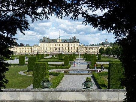 Stockholm, Drottningholm, Sweden, Palace, Royal Palace