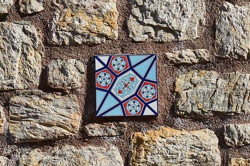 Wall, Ceramic, Ornament, Pattern, Tile, Design, Texture