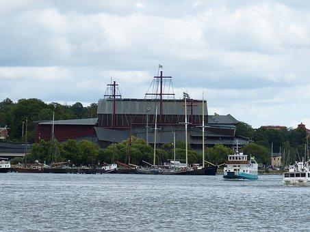 Stockholm, Sweden, Building, Architecture, City, Water