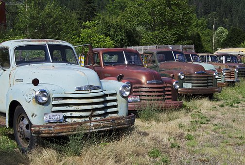 Old Trucks, Usa, Chevrolet, Oldtimer, Work Truck