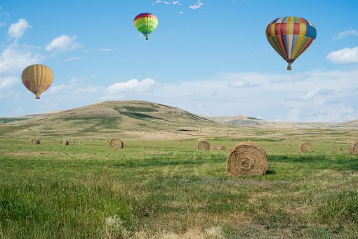 Hot Air Balloons, Flying, Balloon, Freedom, Travel, Sky